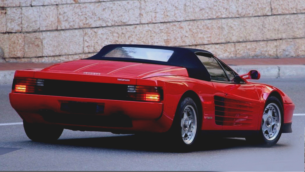 Breaking: One of the very few Ferrari Testarossa Spiders (that we know of) comes to market ()