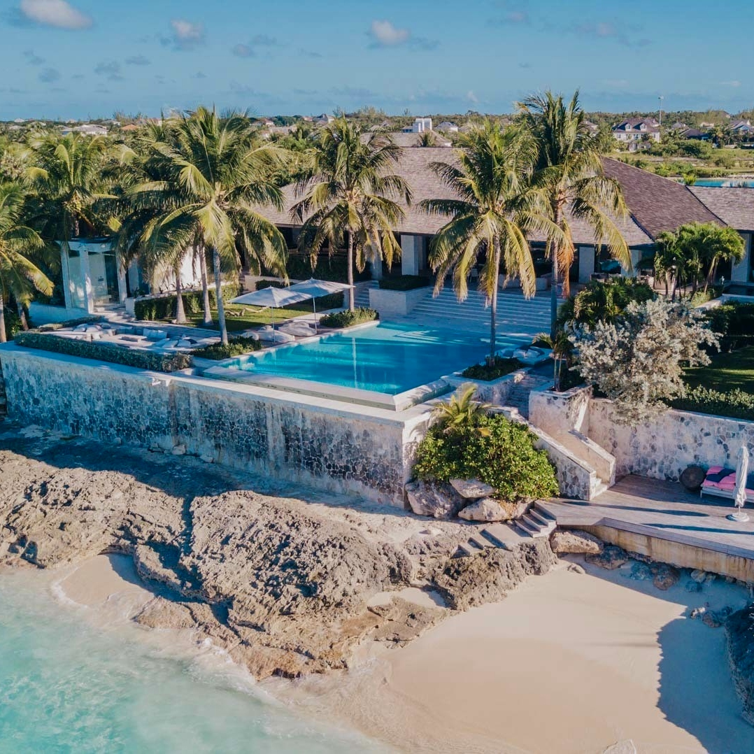 New, luxury gated communities in the Bahamas: Villa Apsara, the luxury gated community of Old Fort Bay, P.O.R.
