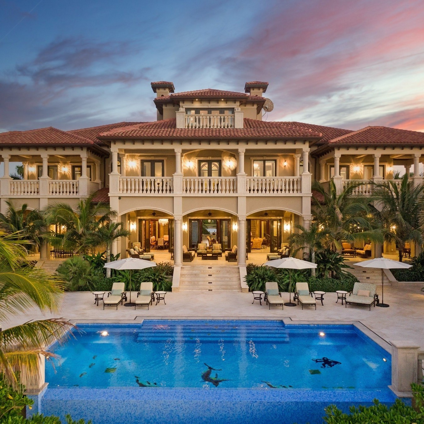 Best place to buy property in the bahamas: The Impeccable Krystal House at Old Fort Bay, $32,000,000