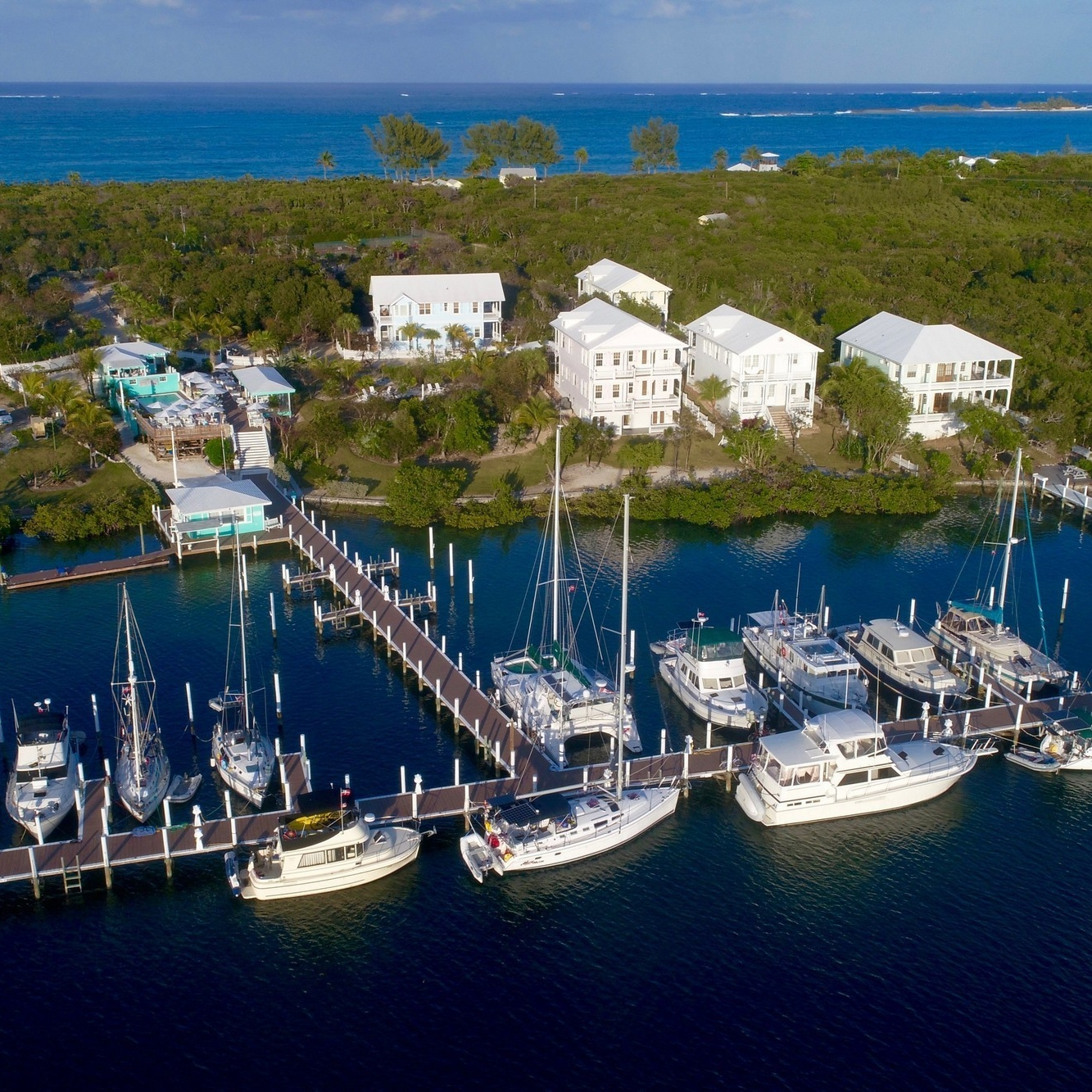 Best place to buy property in the bahamas: Leeward Yacht Club, Abaco, $6,950,000.