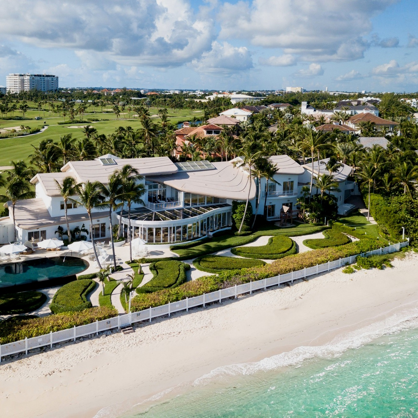 New, luxury gated communities in the Bahamas.