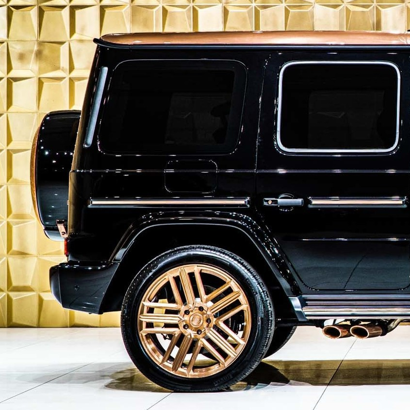 """G-Class 2020: Modified, limited edition G-Wagon -- Mercedes Benz G63 AMG 2020 """"Steampunk Edition"""