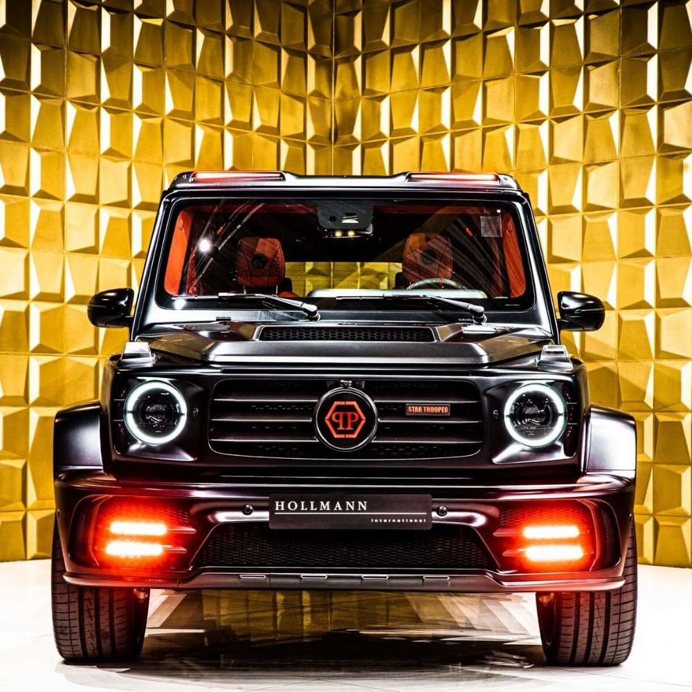 G-Class 2020: Modified, limited edition Mercedes G-Wagon - G63 AMG with restyled interior, MansoryStar Trooper Philipp Plein