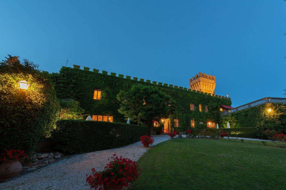 Modern castle houses: Castle in Venturina, Italy (price on request).