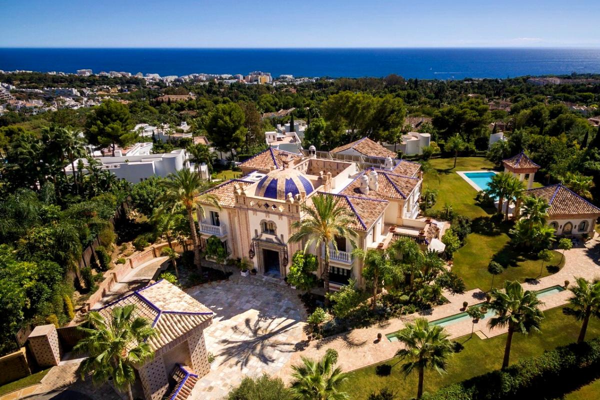 Modern day castles: Moorish-style castle in Marbella (approx. US$13,788,255).