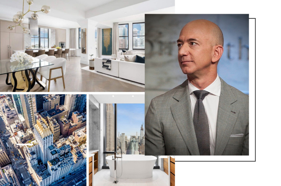 Become Jeff Bezos' neighbor: incredible homes for sale next door in New York and LA