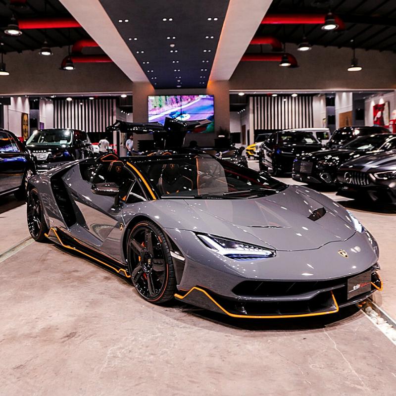 Best Lamborghini colors: US$4 million Centenario, grey