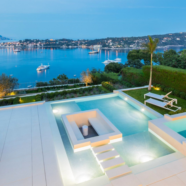 Best places to live in French Riviera: seafront villa in Villefranche-sur-Mer near Nice with one of the best views in French Riviera not far from one of the best beaches in French Riviera and best authentic medieval villages and towns in French Riviera, and some of the best places to stay in French Riviera