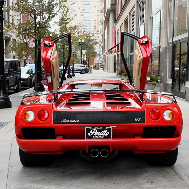 Best Lamborghini colors: 2001 Lamborghini Diablo, red