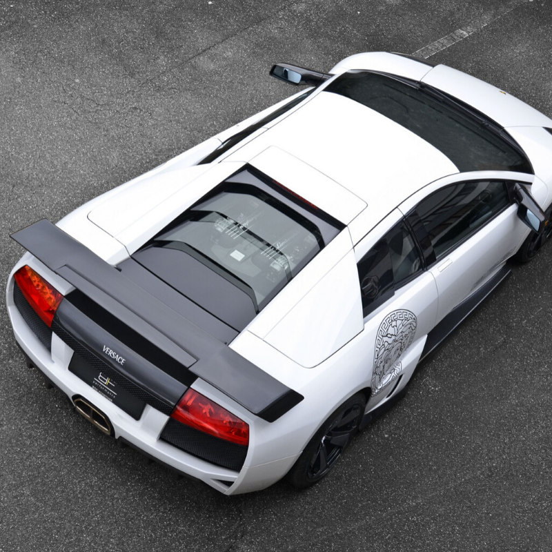 Best Lamborghini colors: One of ten Lamborghini Murcielago Versace edition, white
