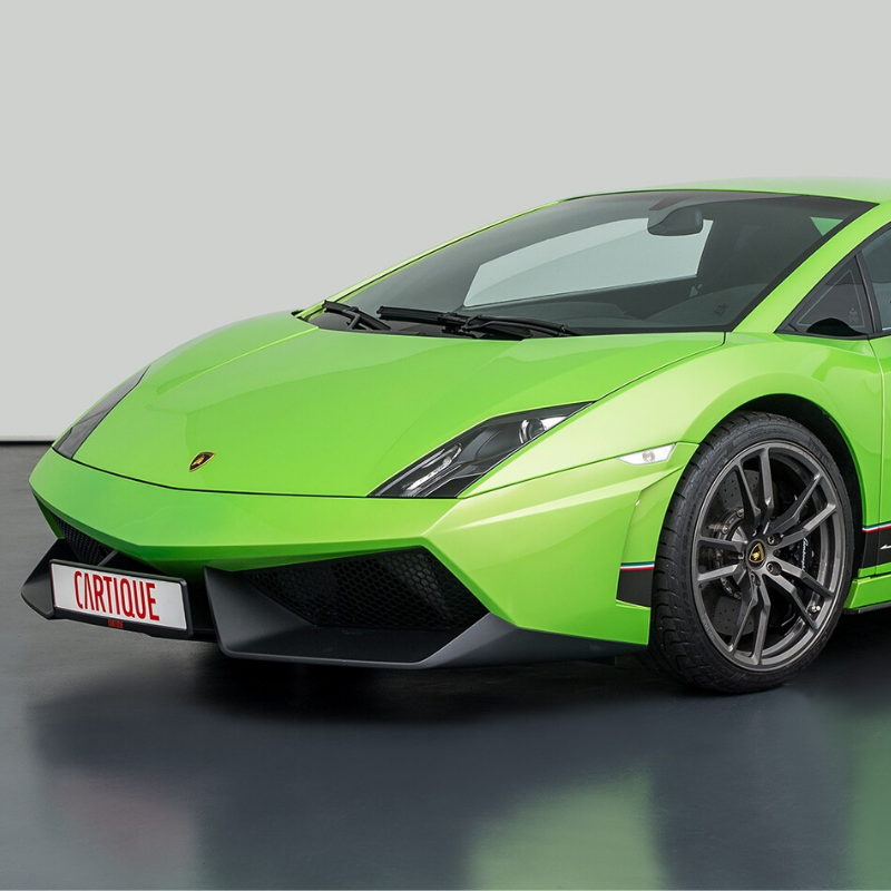 Best Lamborghini colors: 2011 Lamborghini Gallardo LP 570-4 Superleggera, green