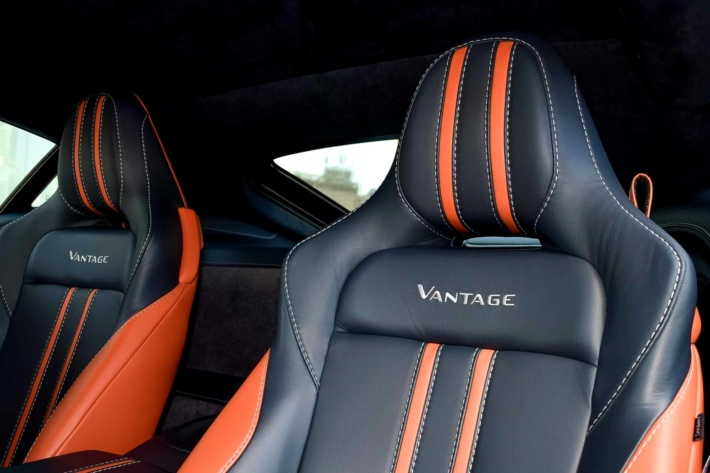 How much is an origianl Aston Martin Vantage in Dubai: 2019 Aston Martin Vantage V8 RWD, approx. US6,967.