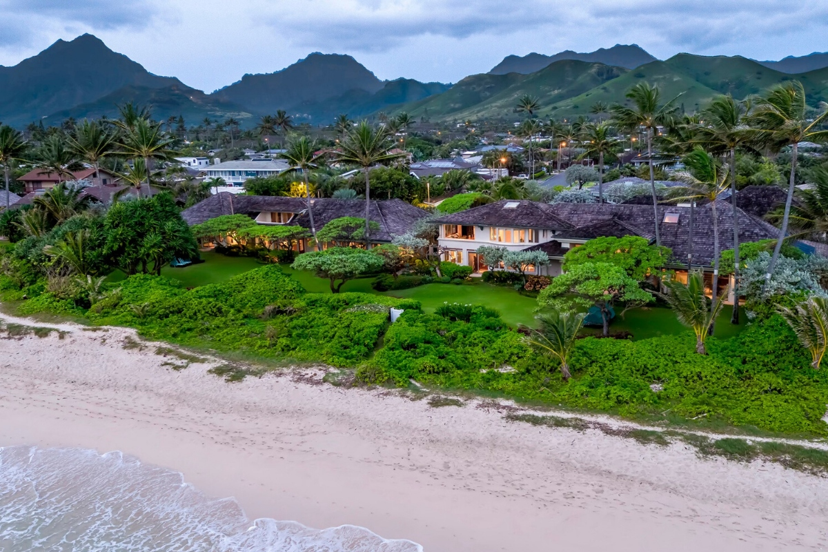 Luxury real estate companies: million-dollar bungalow for sale by List Sotheby's brokerage in Hawaii, US