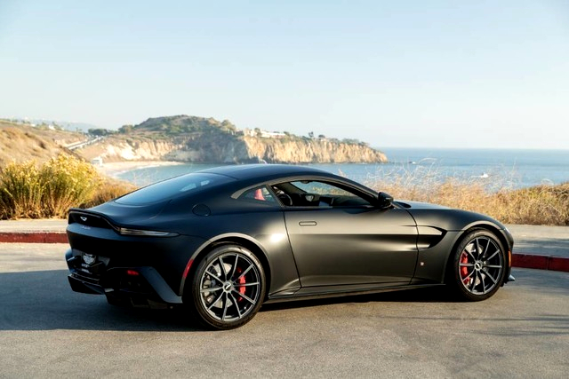 Aston Martin Vantage V8 prices: 2020 Aston Martin Vantage V8, Black Edition with air filter, USA4,809, Newport Beach, USA.