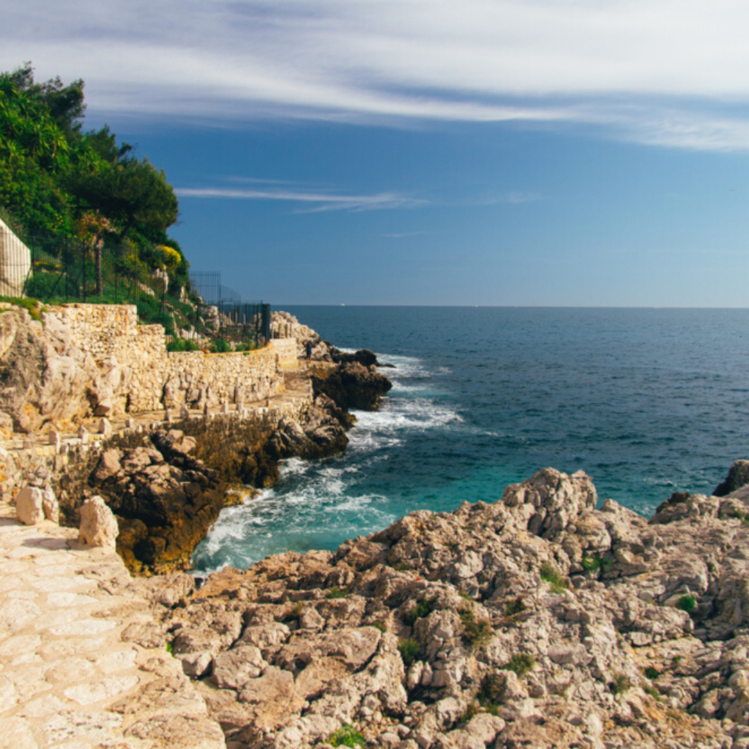 Coco Beach is one of the best beaches in French Riviera, within Nice, one of best places to live in French Riviera, providing one of the best views in French Riviera, and not far from the best authentic medieval villages and towns in French Riviera