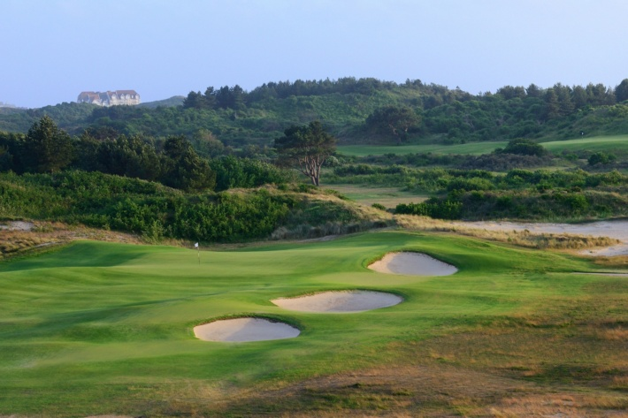 Best and most beautiful golf courses in Europe: Le Touquet Golf Club (Opal Coast, France)