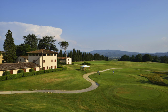 Best and most beautiful golf courses in Europe: Poggio Dei Medici Golf Course (Florence, Italy)