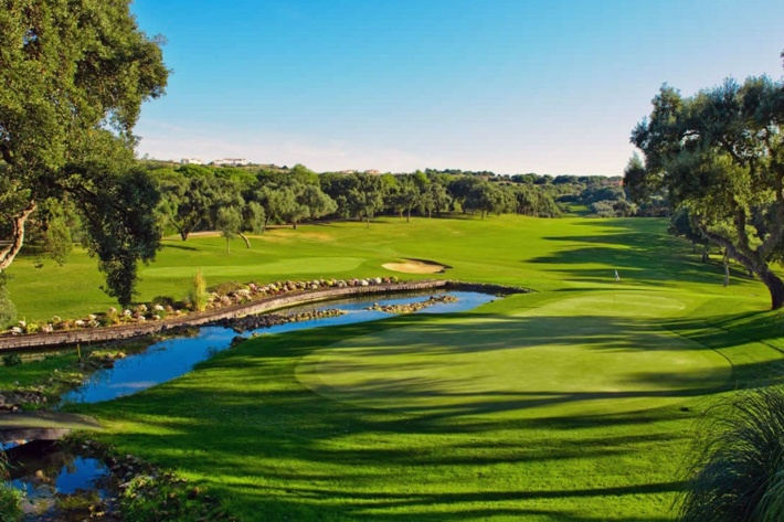 Best and most beautiful golf courses in Europe: Real Valderrama Golf Club (Andalucia, Spain)