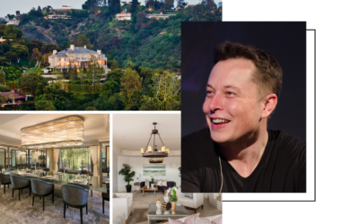 Elon Musk listed 5 houses for $100M in Bel Air, and we found more affordable homes next door