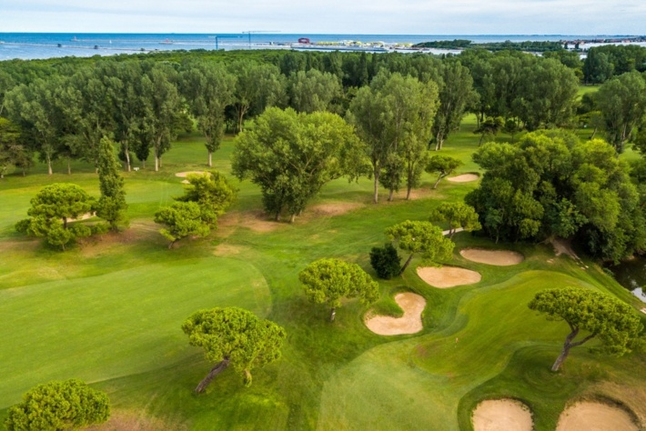Best and most beautiful golf courses in Europe, pebble beach: Circolo Golf Venezia (Venice, Italy)