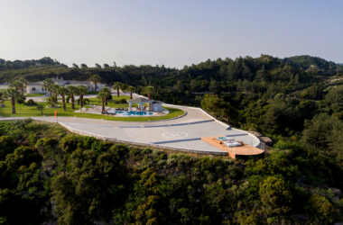 The World's top 12 homes with stunning helipads: from Sardinia to Costa Rica