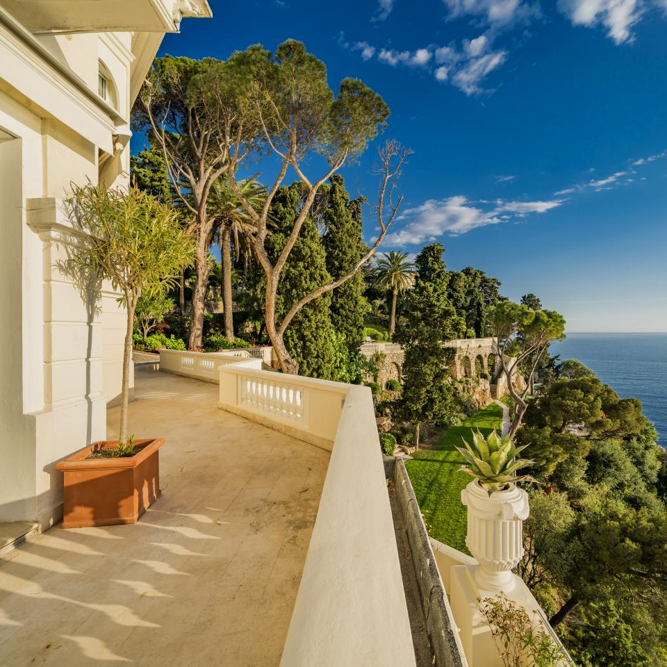 Sean Connery's home in Nice, France and other present day properties