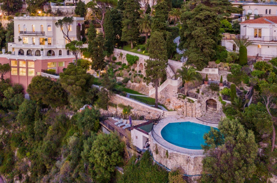 Sean Connery's Bond-style mansion in Nice is on the market for $34,000,000