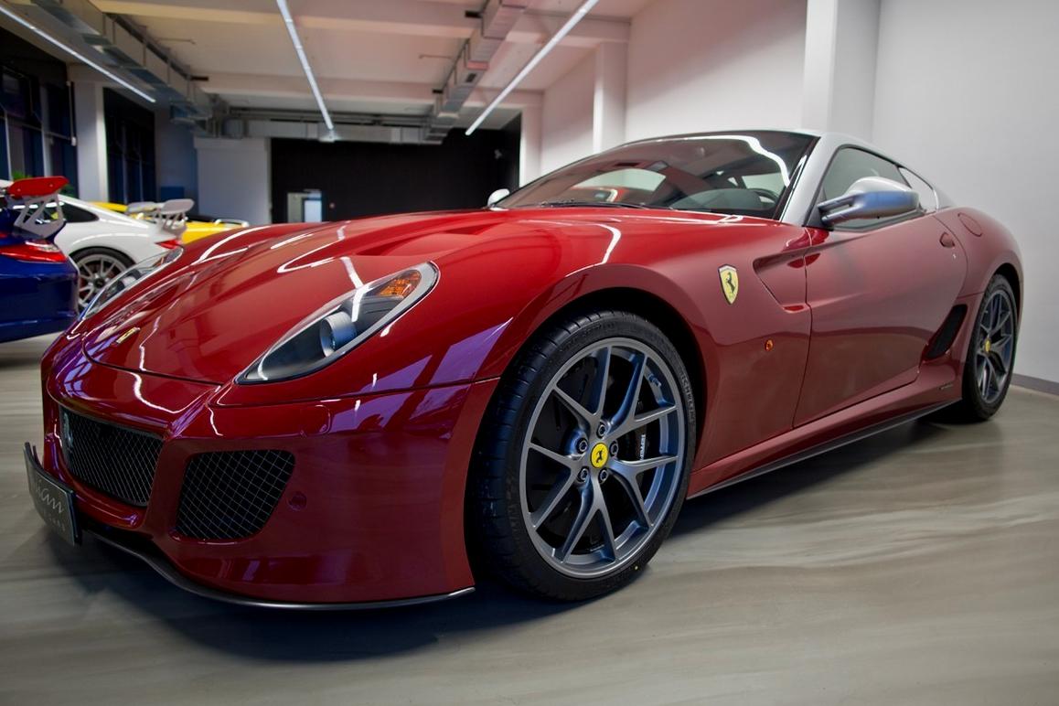 The most expensive Ferrari cars in 2020-2021: Ferrari 599 GTO, US$ 879,106.