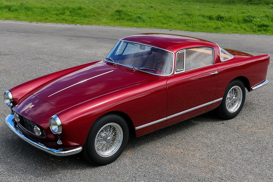 The most expensive Ferrari cars in 2020-2021: 1957 Ferrari 250 GT Coupe Boano, approx. US$1,195,637