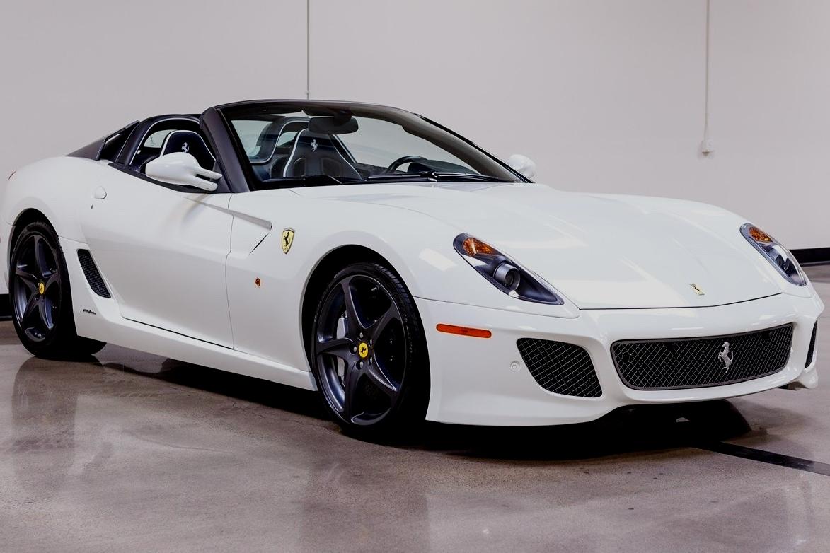 The most expensive Ferrari cars in 2020-2021: 2011 Ferrari 599 Pininfarina, US$ 1,600,000.