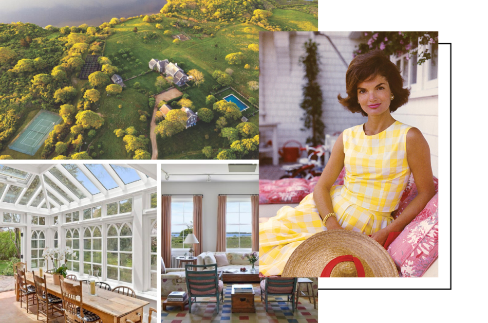Tour the most beautiful houses that Jackie O lived in