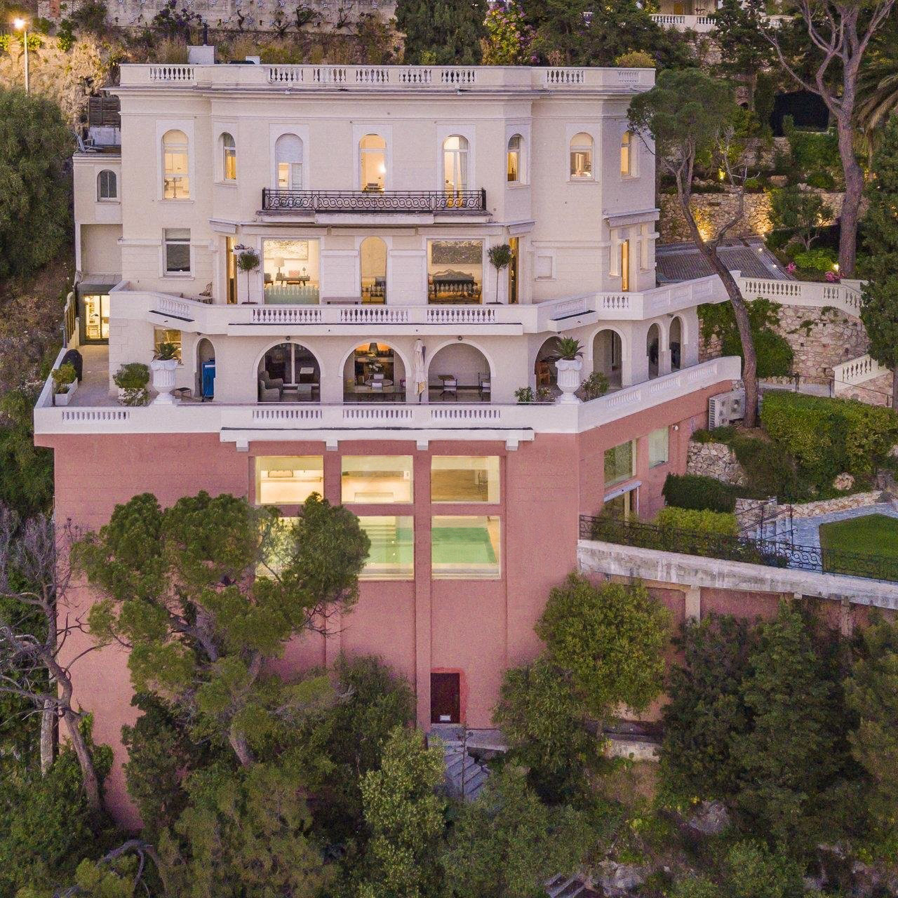 Sean Connery's house in Nice, France, with price: eighty year old actor sells his property