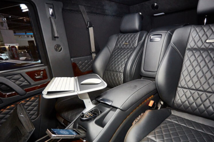 Luxury armored vehicles: armored G Wagon 63 AMG 2020