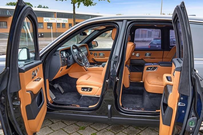 Luxury armored vehicles: Rolls-Royce Cullinan 2019