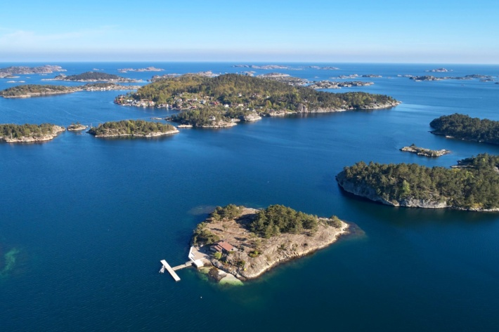 How much is it to buy a private island near cruise line: A private island in Norway's famous archipelago, $1,334,201.