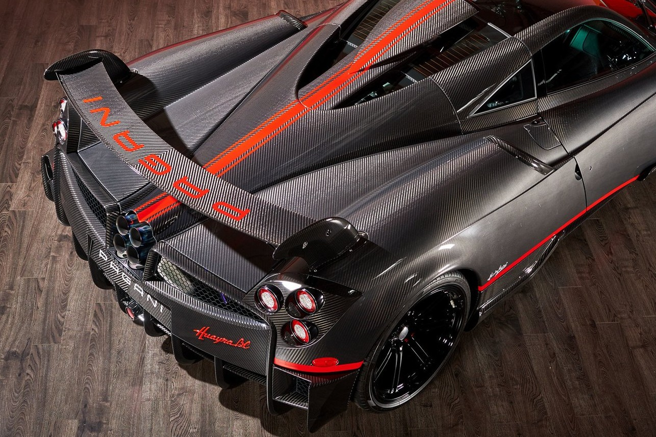 Best exotic cars rental: 2017 Pagani Huayra BC, Costa Mesa, CA, USA, price on request.