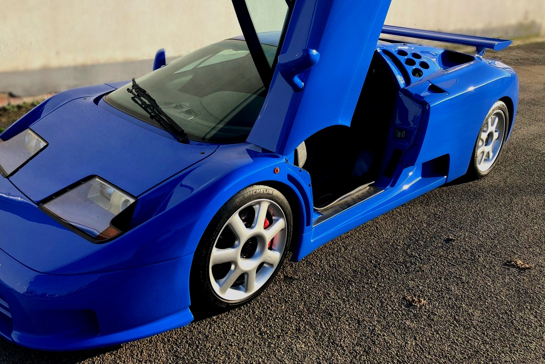 Best exotic cars of all times: 1995 Bugatti EB 110 4x4, Munich, Germany, approx. $3,279,506.