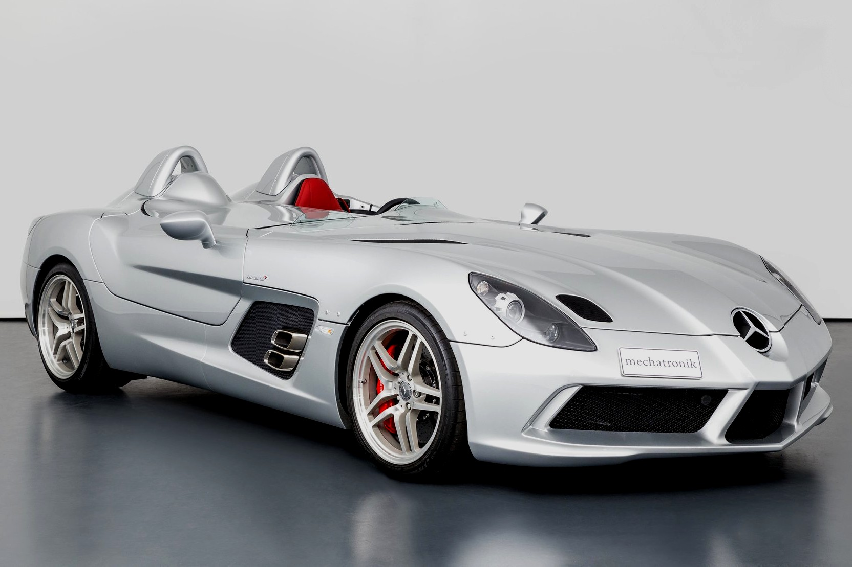 """""""Best exotic cars of all times: 2009 Mercedes-Benz SLR McLaren Stirling Moss, Pleidelsheim Germany, approx. $3,044,084."""""""