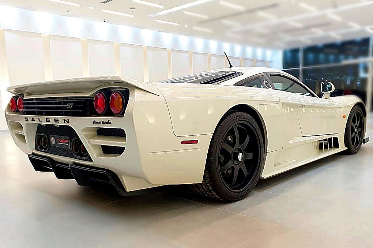 Best exotic cars of all times: 2005 Saleen S7, Duabi, UAE, $1,000,000.