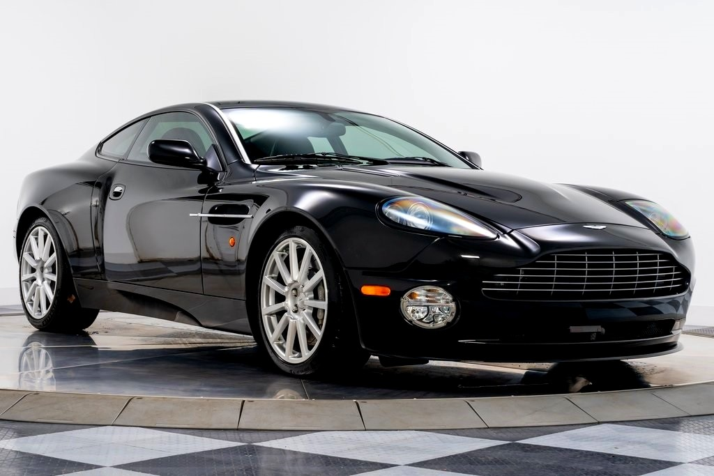 Best exotic cars under 100,000 and under 50,000:2005 Aston Martin Vanquish S V12, Cleveland, OH, USA, $89,900.