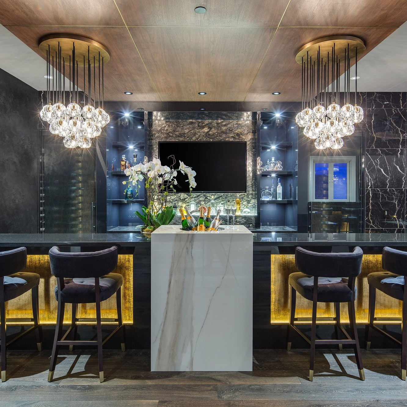 Interior Design Ideas Home Bar: Top 15 Luxury Home Bars : Ultra-stylish Interioir Ideas