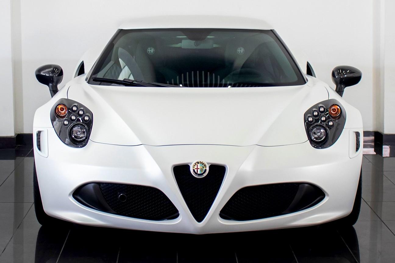 Best exotic cars under 100,000 and under 50,000:2015 Alfa Romeo 4C, Dubai, UAE, $60,000.
