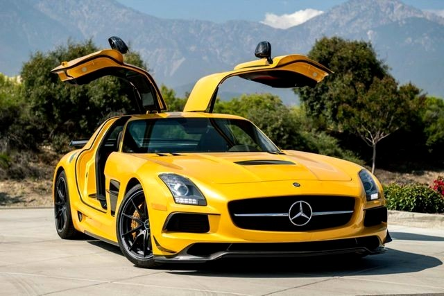 Best billionaire exotic cars: 2014 Mercedes-Benz SLS AMG Black Series, Upland, CA, USA, $419,999.