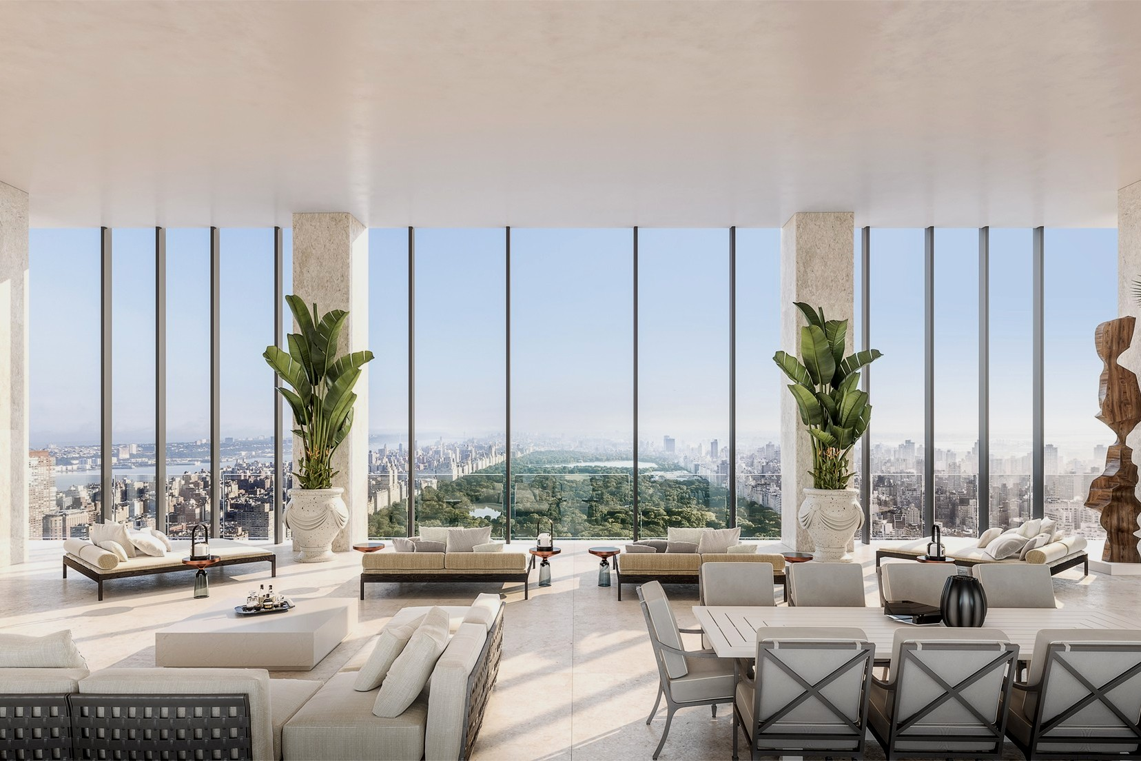 Most expensive penthouses in NYC: inside pics