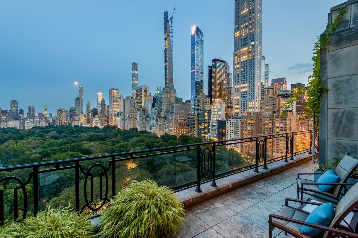 Best penthouses in NYC: interioir design