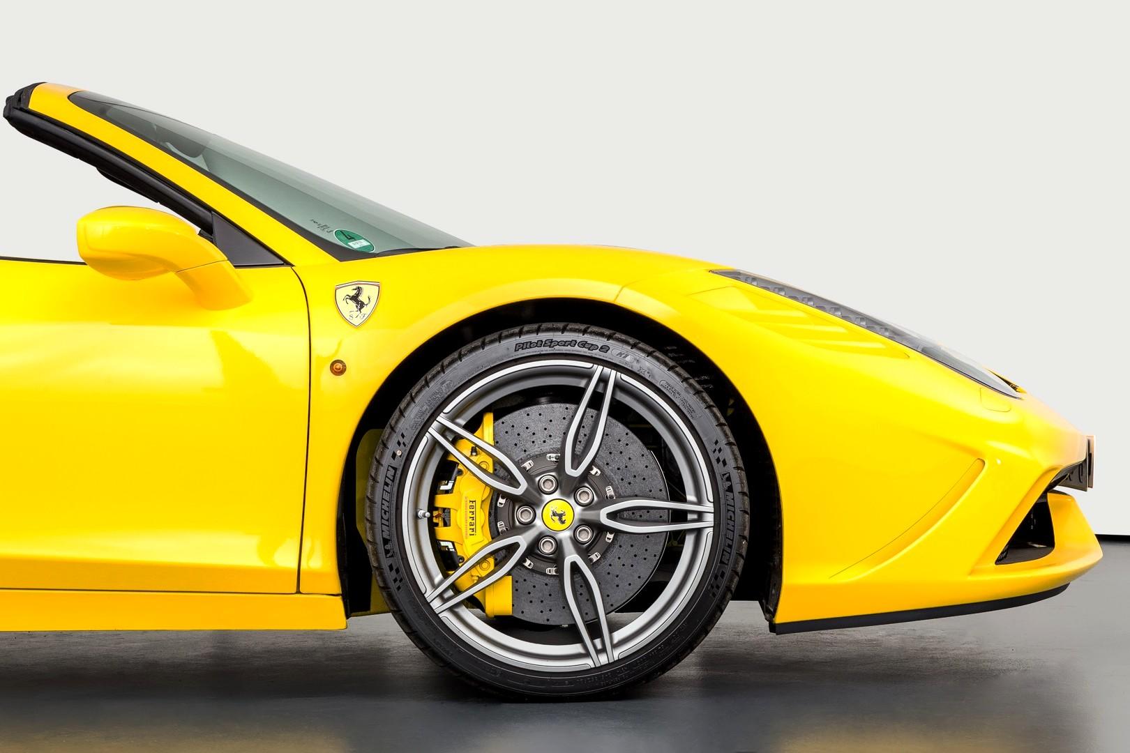 Best exotic cars transport: 2015 Ferrari 458 Speciale Aperta, Pleidelsheim, Germany, approx. $644,188.