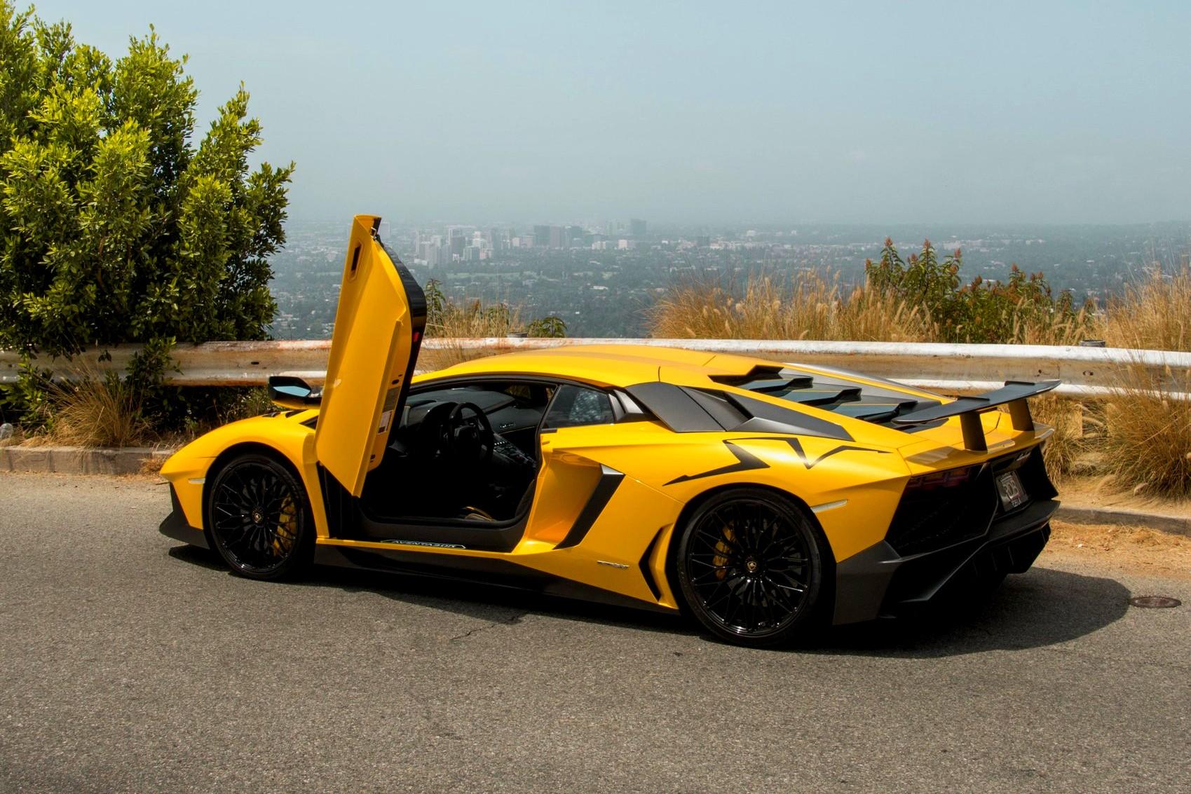 Best exotic cars warranty: 2016 Lamborghini Aventador SVJ, West Hollywood , CA, USA, $385,000.