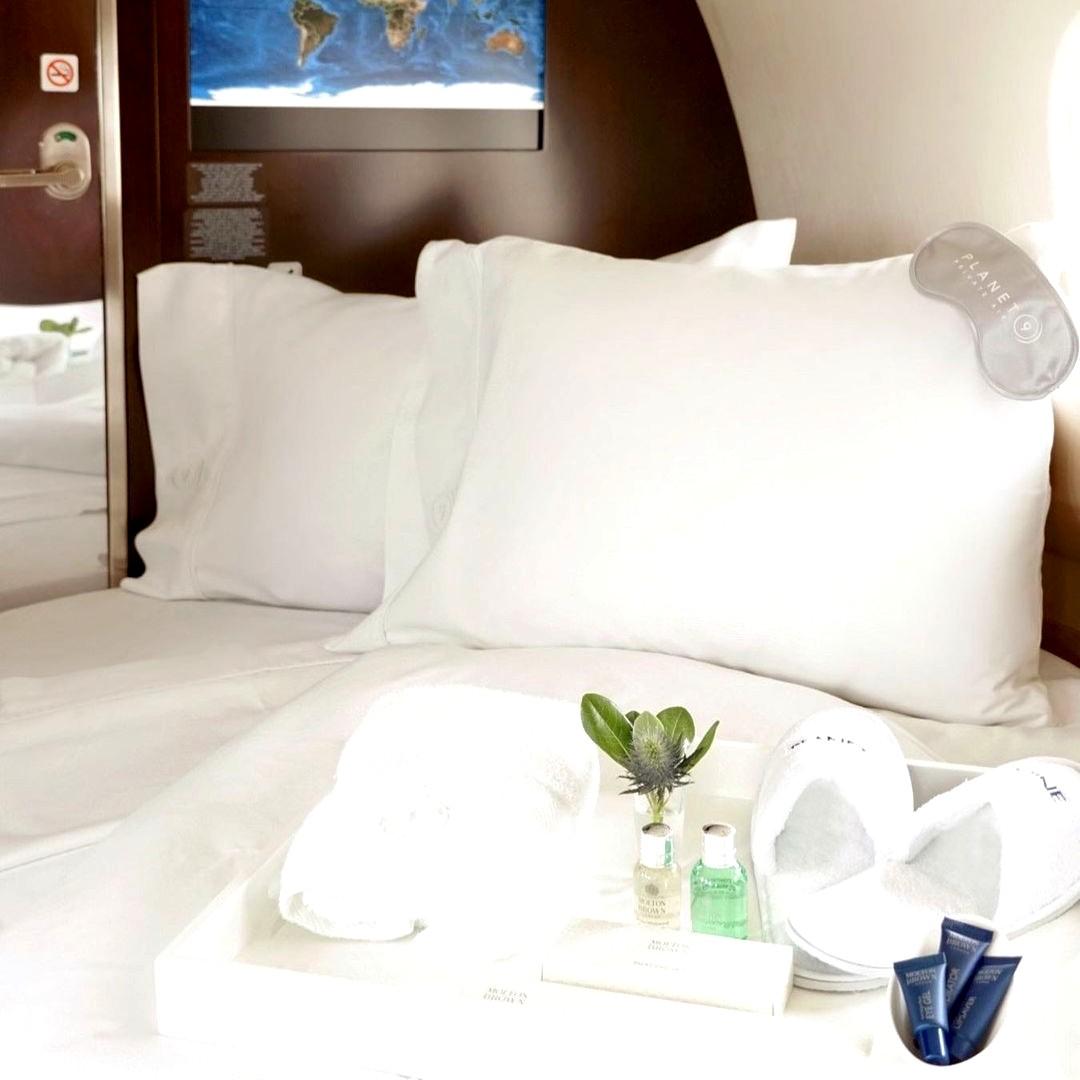 Amazing super-luxurious private jet interiors