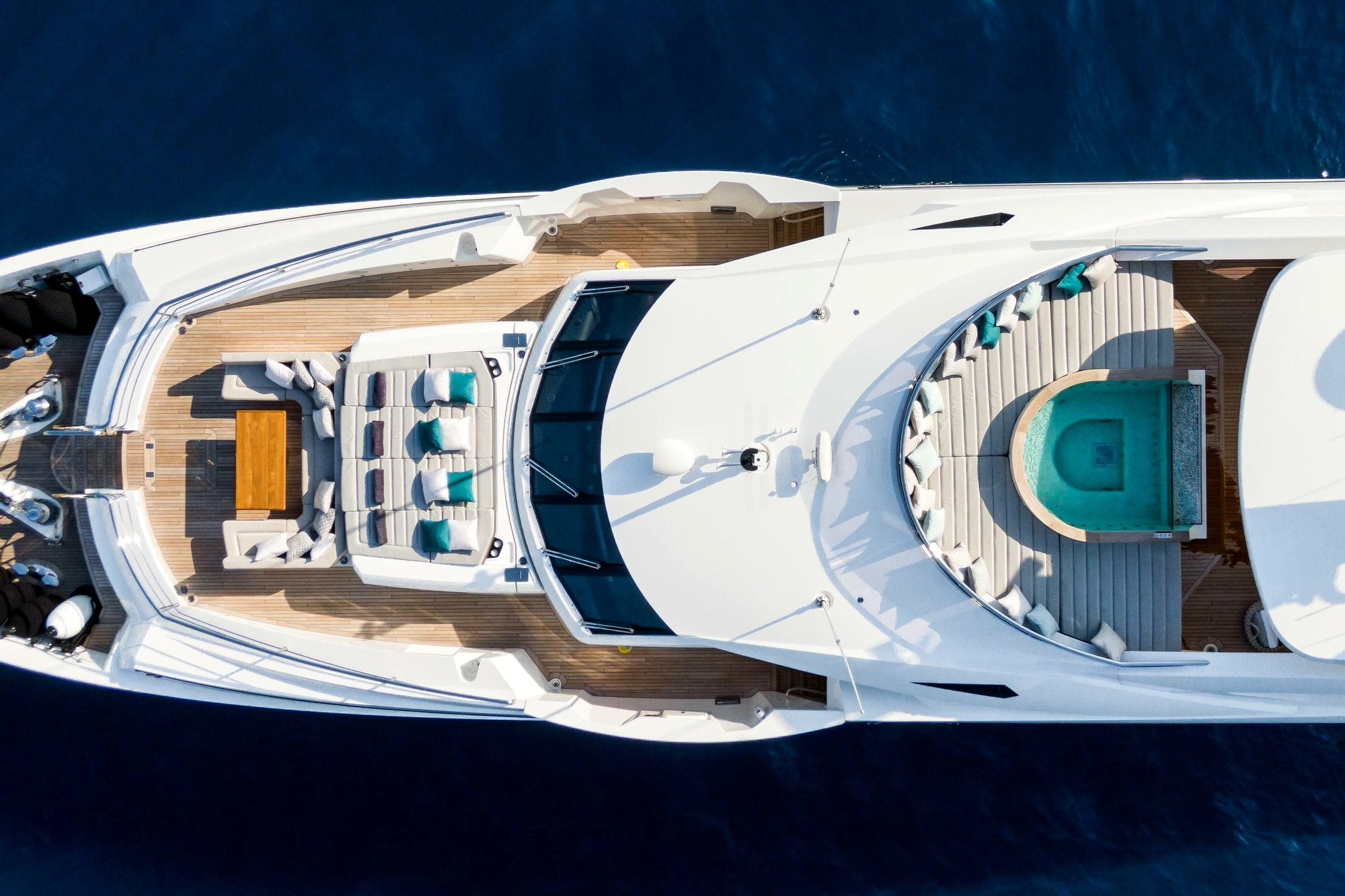 Houses on the water: Top 10 luxury yachts for self-isolated vacations ()