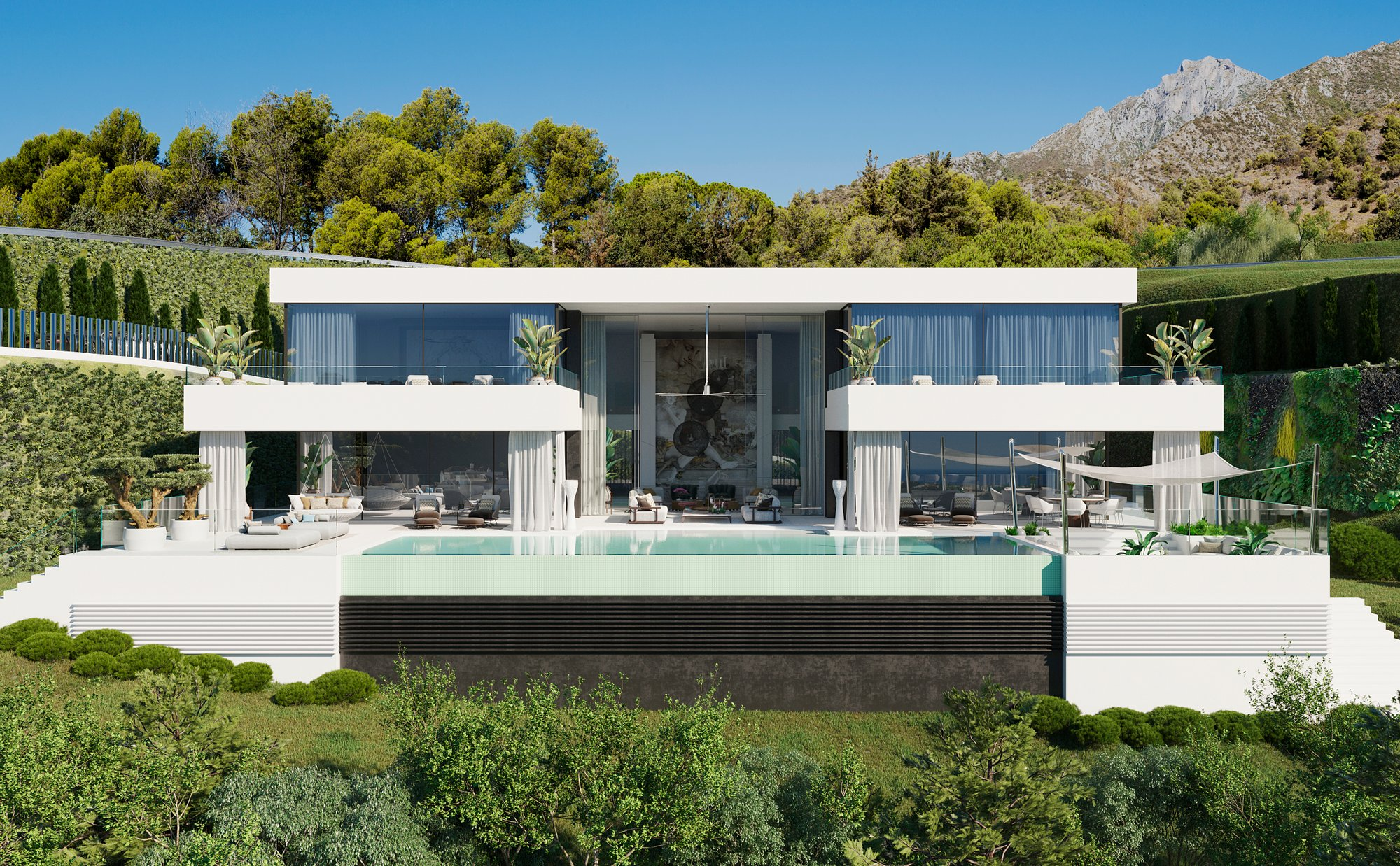 The best mansions with pools in the world for sale: top 10 listings with prices